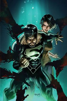 Superman and Lois Lane by Stephen Segovia, colours by Elmer Santos *