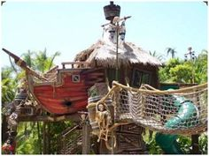 Pirate Ship ......Treehouse