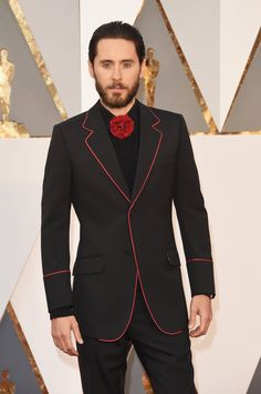 Pin for Later: See Every Face-Meltingly Hot Dude Who Steamed Up This Year's Oscars Jared Leto