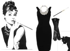 Audrey Hepburn. Classy and easy. The perfect Halloween costume for a woman.