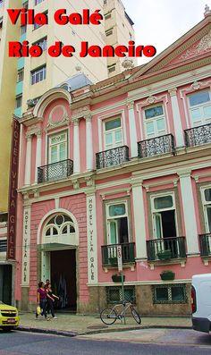 Este palacete centenário foi totalmente restaurado para ser a sede do hotel Vila Galé Rio de Janeiro. Ficou uma maravilha, veja mais informações lá no blog.
