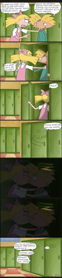 Trapped in a locker by KasuKAPL.deviantart.com on @deviantART