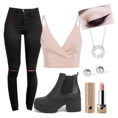 18th Birthday Outfit Inspiration by kirrily-emmett on Polyvore featuring polyvore, fashion, style, Boohoo, Snö Of Sweden, Blue Nile, Marc Jacobs and clothing