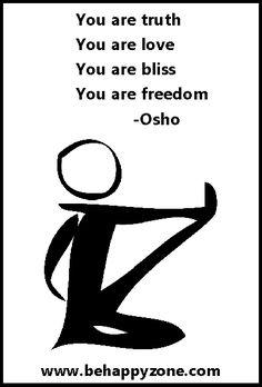 You are love! - inspirational, zen, yoga, quotes.