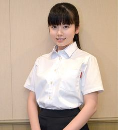 Bao Buns, Japanese School, Yuka, Natalie Portman, Female Poses, White Shirts, Ruffle Blouse, Assassin, Beauty