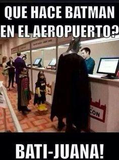 ¿Qué Hace Batman En El Aeropuerto? #ImagenDelDia