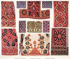Embroidery Patterns Hungary Macedonia Montenegro Serbia