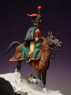 Cacciatore a cavallo Little Hotties, Empire, Cacciatore, French Army, Historical Art, Napoleonic Wars, Figure Painting, Military Fashion, Historian