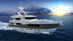 Explorer 90 in new construction offered by All Ocean Yachts.