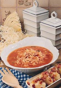 Kapusniak - Recipes Wiki - Cookbook for Chicken Recipes, Dinner Party Recipes, Healthy Recipes, Seasonal Soups and more. Hungarian Recipes, Russian Recipes, Pork Hock, Polish Recipes, Polish Food, European Cuisine, Pork Recipes, Chicken Recipes, Healthy Recipes
