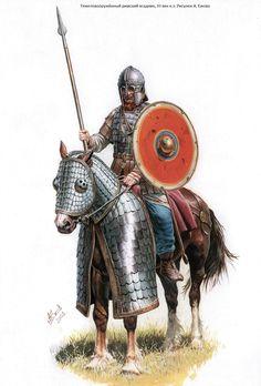 катафракт - in English 'Kataphrakt' or super heavy cavalry