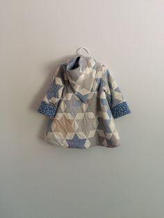 Quilt coat Vintage Quilt Upcycled Quilt by LittleRoseRabbit