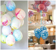 13 ideias de decorações criativas com balões - Amando Cozinhar - Receitas, dicas…