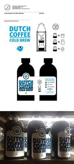 Dutch Coffee Label on Behance