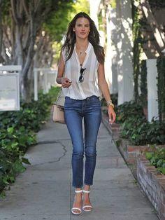 Alessandra Ambrosio-love her style!