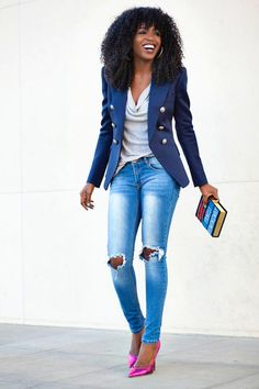 FAVE!!! Blazers: Good for Business and Great for Casual Wear