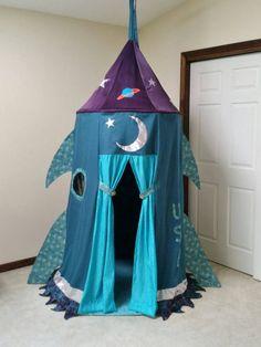 Rocket Ship Play Tent Tende Bambini Camerette E Camere