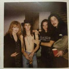 Nancy Wilson, Mike McCready, Eddie Vedder, and Chris Cornell