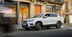 Discover the SEAT Ateca and new SEAT Ateca FR. View the world from a more spacious and ergonomic place on your day-to-day trips. Explore the SEAT Ateca now! Short Stools, Lincoln Mkx, Luxury Crossovers, Brown Leather Recliner Chair, Restaurant Tables And Chairs, Comfortable Office Chair, Dream Garage, Day Trips, Euro
