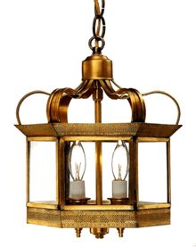 Princeton Pendant Hanging Light: The Princeton Pendant Style Hanging Mount Copper Lantern, shown in Antique Brass with Clear Glass, is made in America from the highest quality brass and copper for maximum strength and durability. Available in a variety of size, finish and glass options, the classic elegant style works well with Traditional, Cape Cod, Colonial and Colonial Revival style homes, lake homes and cabins. http://www.lanternland.com/prhamola.html
