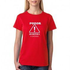 0fa875bf125 Maminka v zácviku - Dámské tričko pro začinající maminky