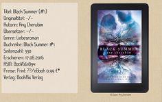 """In """"Black Summer"""" von Any Cherubim fand ich einen ausgesprochen unterhaltsamen Liebesroman, der über die Thematik Opferschutzprogramm und dunkle Machenschaften der Unterwelt berichtet. Ein mitreißender Schreibstil, der die Story zum Leben erweckt. Ich kann nur sagen: """" Any Cherubim macht süchtig!""""~ Humor ~ prickelnde Erotik & Liebe ~ Action ~ mitreißender Schreibstil. ~ That's Any Cherubim Style."""