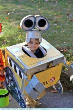 Reminds me of my grandson a few years back, wanted to be Robbie the Robot.