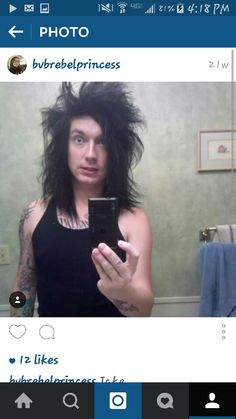 Jake Pitts <<<What is with his hair??