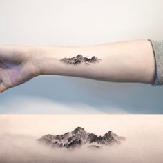 mountain  oriental painting  #mountaintattoo #tattoo #hongdam #타투 #홍담