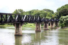 Bridge over the river Kwai. Thailand, Ayutthaya- Travelhype