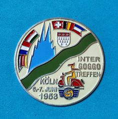 Badge Placca Plakette Inter Goggo Treffen Koln
