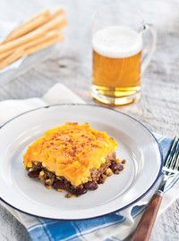 Ricardo& recipe: Texan-Style Shepherd's Pie I Love Food, Good Food, Yummy Food, Pie Recipes, Cooking Recipes, Confort Food, Ricardo Recipe, Freezer Cooking, Southern Recipes