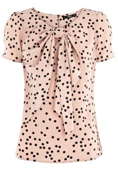 Pink...black...polka dots      What's not to love?