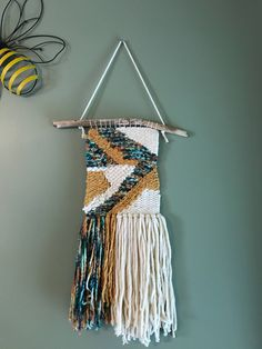 A personal favorite from my Etsy shop https://www.etsy.com/listing/537439922/wall-hanging-weave