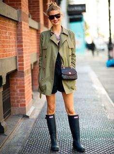 21 simple ideas to dress in the rain