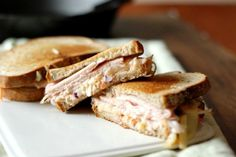 The Rachel sandwich is Reuben's distant cousin. If you love the Reuben, you'll love this too.