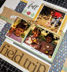 Is Scrapbooking Corny Sentimentalism or Not? | MaryGunnFunn.com Apple picking memories