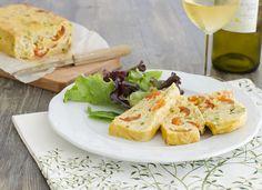 Pastel de patata con verduras para #Mycook http://www.mycook.es/receta/pastel-de-patata-con-verduras