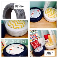 How to make : Spray paint tire Cover a circular piece of Thick MDF…
