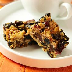 Oh so good granola bars Power up — while you slim down — with this yummy snack. - Fitnessmagazine.com