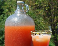 Sunset Rum Punch | Sip this deliciously fruity cocktail around the campfire while watching the sun set from your campsite. #survivallife www.survivallife.com