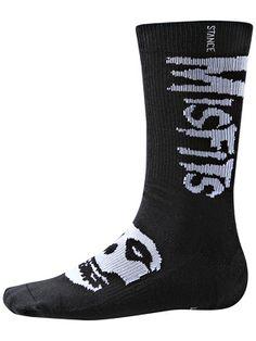Stance Misfits 20 Eyes Socks  Black