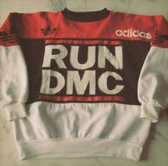 Vintage Adidas Sweater RUN DMC