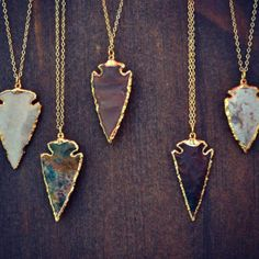 Arrowhead Necklaces by Lux Divine