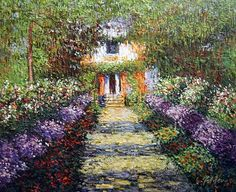 A Pathway in Monet's Garden at Giverny