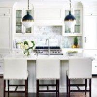 blanco en la cocina