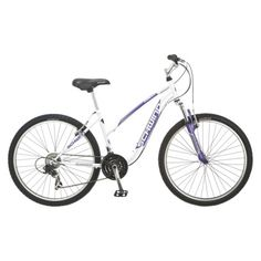 "Schwinn Women's Ranger Mountain Bike - White (26"")."