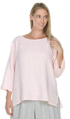 Match Point Medium Weight Sleeve Round Neck Top - Sale on Select Colors Womens Linen Clothing, Match Point, Tunic Tops, Clothes For Women, Medium, Sleeve, Model, Purpose, How To Wear