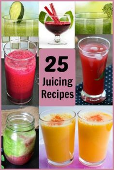 25 Juicing Recipes For a Healthy Lifestyle - A Proverbs 31 Wife #juicingrecipes #juicing #juicerecipes