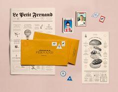 """Popatrz na ten projekt w @Behance: """"Big Fernand"""" https://www.behance.net/gallery/55877051/Big-Fernand"""
